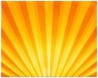 Rayos ligeros en el papel Foto de archivo libre de regalías