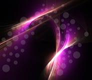 Rayos púrpuras Imágenes de archivo libres de regalías