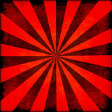Rayos retros del Grunge Libre Illustration