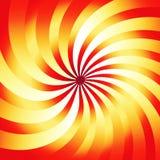 Rayos rojos Imagenes de archivo
