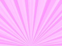 Rayos rosados Foto de archivo libre de regalías