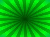 Rayos verdes Fotos de archivo libres de regalías