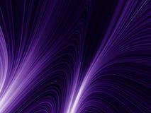 Rayos violetas Imagen de archivo libre de regalías