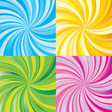 Rays. Colorful beam rays background vector illustration Royalty Free Stock Image