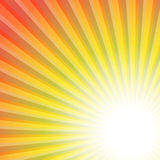 Sunburst rays abstract background Royalty Free Stock Photos