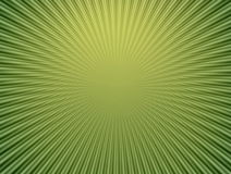 Rays  in abstract green  universe Royalty Free Stock Photography