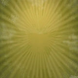 Rays  in abstract green yellow  universe Stock Image