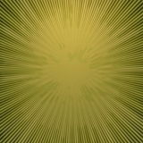Rays  in abstract green yellow  universe Stock Photos
