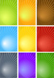 Rays Background - Vector Royalty Free Stock Photography