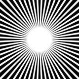 Rays, beams, starburst sunburst pattern. Converging lines abst. Ract background. - Royalty free vector illustration stock illustration
