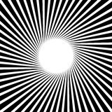 Rays, beams, starburst sunburst pattern. Converging lines abst. Ract background. - Royalty free vector illustration vector illustration