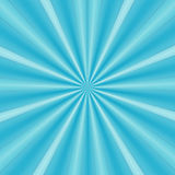 Rays of blue design Stock Images