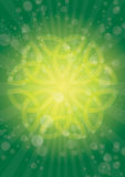 Rays celtic Royalty Free Stock Photography
