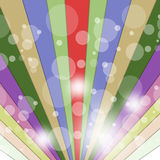 Rays Color Indicates Multicolored Beam And Vibrant Royalty Free Stock Photography