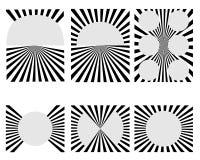 Rays Design Stock Photography