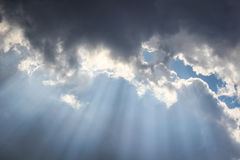 Rays of hope Royalty Free Stock Photos
