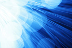 Rays of light. In blue Stock Images