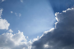 Rays of light Stock Photography
