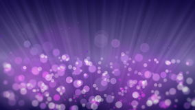 Rays of Light with Elegant Bokeh Background. stock footage