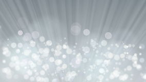Rays of Light with Elegant Bokeh Gray Background. stock video