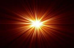 Rays of light Stock Photo