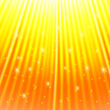 The rays of light and stars design element. For your project. Light background. Vector illustration stock illustration
