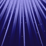 The rays of light and stars design element. For your project. Dark background. Vector illustration royalty free illustration
