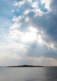 Rays of light. Stock Photos