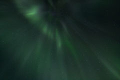 Rays of the northern Lights Stock Photography