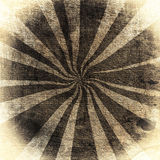 Rays On A Vintage Fabric Stock Image