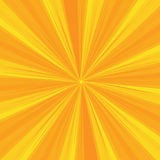Rays Pattern with yellow Light Burst Stripes. Sun ray.Abstract Wallpaper Background. Vector Illustration. Stock Images