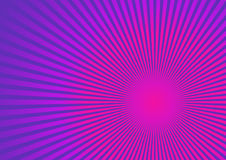 Rays on pink purple background. vector illustration