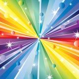rays stjärnor Fotografering för Bildbyråer