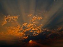 Rays of Sunlight stock photo