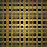 rayure d'or sur le fond foncé Photo stock