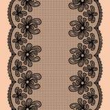 Rayure de dentelle sans couture illustration de vecteur