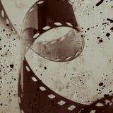 Rayure de film image stock