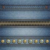 Rayure de jeans Photo libre de droits