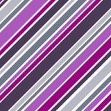 Rayures abstraites de colorfull sur le blanc Photographie stock