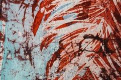 Rayures, batik chaud, texture de fond, faite main sur l'art en soie et abstrait de surr?alisme photos stock