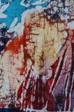 Rayures, batik chaud, texture de fond, faite main sur l'art en soie et abstrait de surr?alisme photographie stock