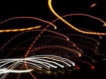 Rayures colorées lumineuses Image libre de droits