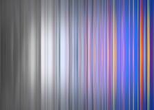 Rayures colorées se fanant aux rayures grises Images libres de droits