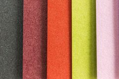 Rayures colorées verticales de textures Photographie stock