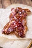 Rayures de lard (frites) photos stock
