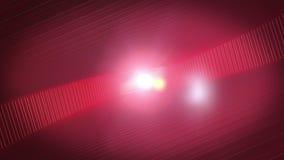 Rayures de remous rouges illustration de vecteur