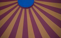 Rayures de tente photographie stock