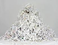 Rayures des papiers déchiquetés Images libres de droits