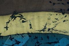 Rayures horizontales, fragment, batik chaud, texture de fond photos libres de droits