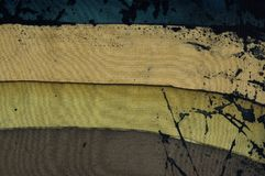 Rayures horizontales, fragment, batik chaud, texture de fond image libre de droits